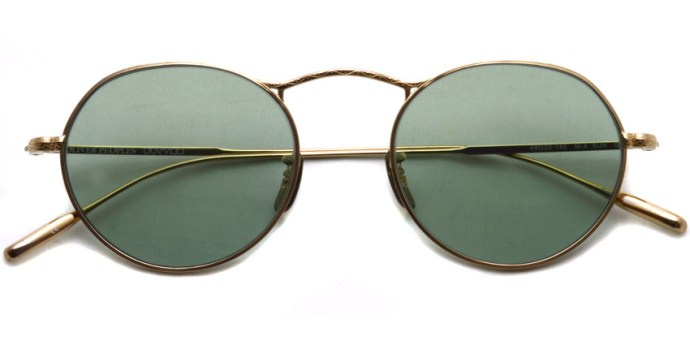 OLIVER PEOPLES / M-4 Sun / Gold - Green WASH (Glass Lenses) / ¥38,000 + tax