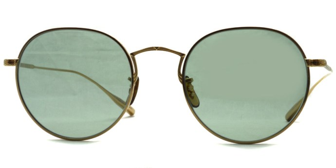 OLIVER PEOPLES / ROSSEN / Gold - Green Wash (Glass Lenses) / ¥38,000 + tax