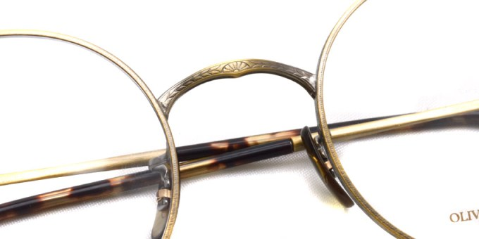 OLIVER PEOPLES / SHEFFIELD / Antique Gold