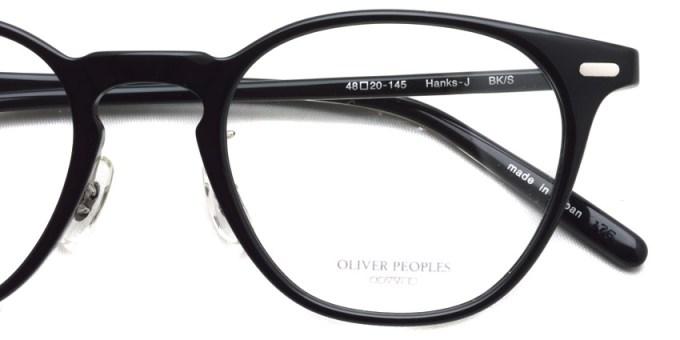 OLIVER PEOPLES / HANKS-J / BKS / ¥34,000 + tax
