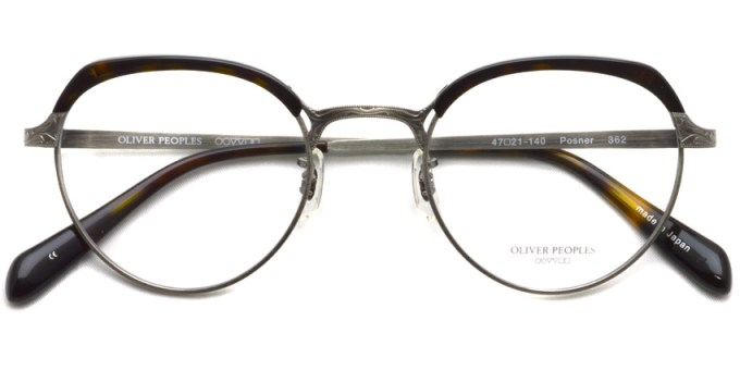 OLIVER PEOPLES / POSNER /  362  /  ¥40,000 + tax