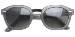 MOSCOT SUN  /  CONRAD /  MAT/GREY/BLACK  - SMOKE (Polar)  /  ¥39,000 + tax