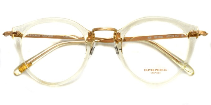 OLIVER PEOPLES / 505 / BECRG / ¥31,000 + tax
