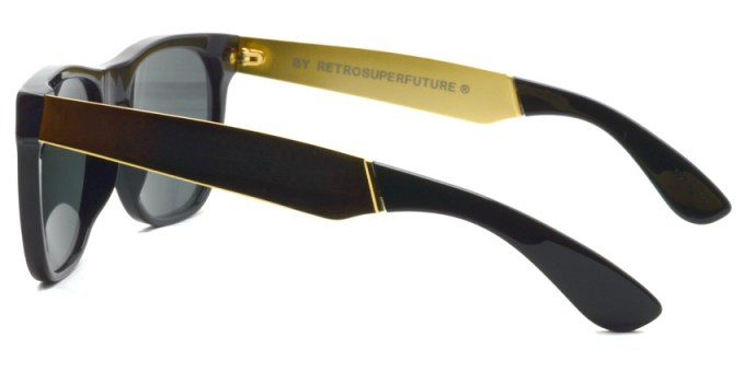SUPER BY RETROSUPERFUTURE / CLASSIC / FRANCIS BLACK GOLD / ¥22,000 + tax