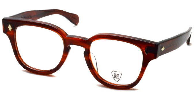 JULIUS TART OPTICAL / BRYAN / AMBER / ¥37,000+tax