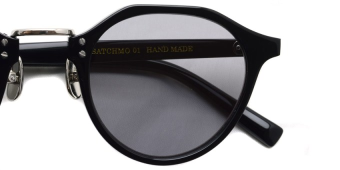 A.D.S.R. / SATCHMO01 (c) / Black- Silver- Light Gray / ¥19,000 + tax