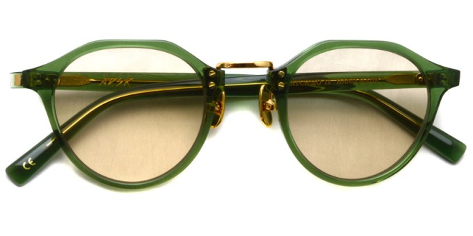 A.D.S.R. / SATCHMO12 / Clear Green- Gold- Light Brown / ¥19,000 + tax