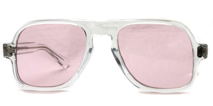 JULIUS TART OPTICAL / DART / CLEAR CRYSTAL-Light Pink