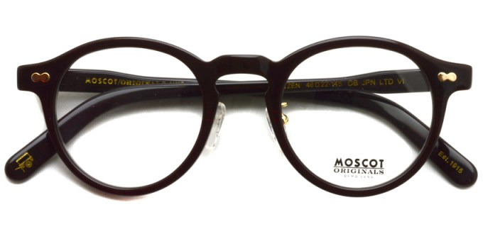 MOSCOT / MILTZEN / DB Japan Limited Ⅵ / ¥32,000 + tax