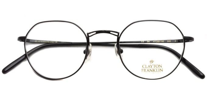 CLAYTON FRANKLIN /  645  / BK  /  ¥26,000 + tax
