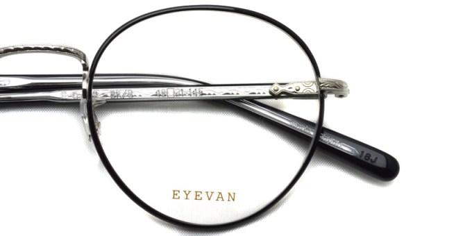 EYEVAN / E-0504 / BKS / ¥33,000+tax