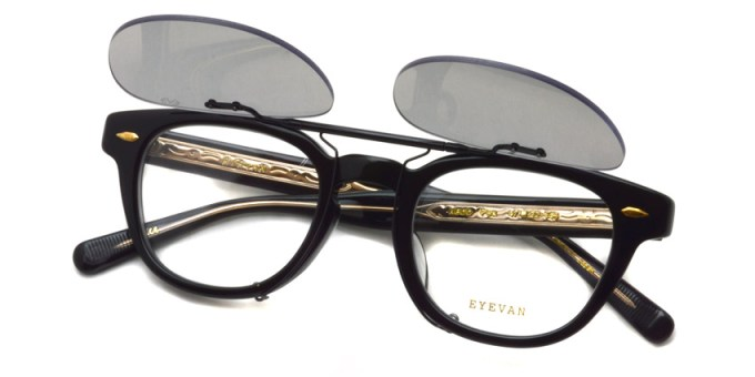 EYEVAN / WEBB Clip / BK - PC GRY38 Polar / ¥14,000 + tax
