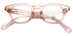 JULIUS TART OPTICAL / AR / Flesh Pink / Bridge : 22mm / ¥37,000+tax