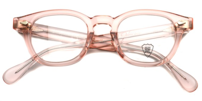 JULIUS TART OPTICAL / AR / Flesh Pink / Bridge : 22mm / ¥37,000+tax