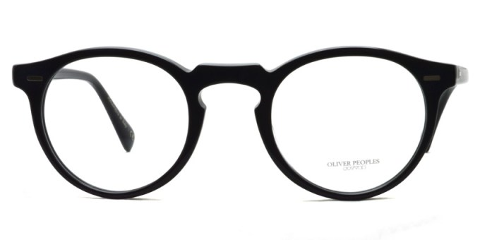 OLIVER PEOPLES / GREGORY PECK(A) OB5186A / 1005 BLACK / ¥29,000+tax