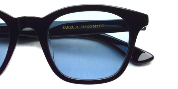 A.D.S.R. / ZAPPA01(c) / Shiny Black - Llght Blue Lenses /  ¥16,000 + tax