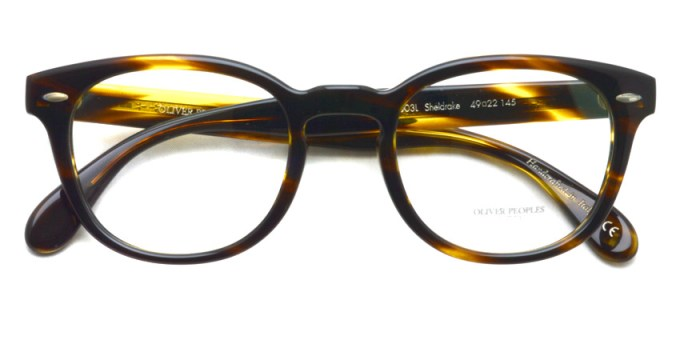 OLIVER PEOPLES / SHELDRAKE(A) OV5036A / 1003L COCOBOLO / ¥30,000 + tax