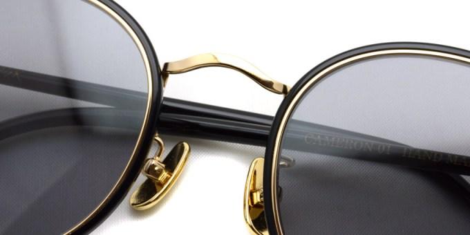 A.D.S.R. / CAMERON01 / Shin Black- Gold- Light Gray / ¥20,000 + tax