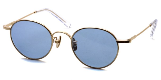 A.D.S.R. / LOU01(b) / Gold - Light Blue/ ¥19,000 +tax