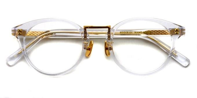 A.D.S.R. / EDDIE04 / Clear / Gold - Clear / ¥18,000 +tax