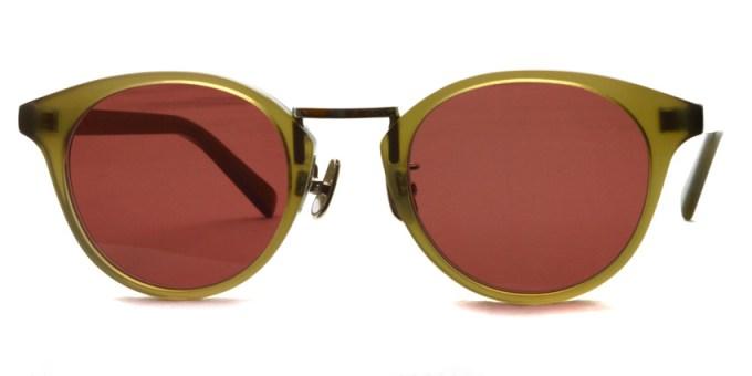 A.D.S.R. / EDDIE05 / Clear Khaki / Silver - Red Brown / ¥18,000 +tax