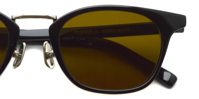 A.D.S.R. / TURNER01 / Shiny Black / Silver - Dark Brown / ¥18,000 +tax
