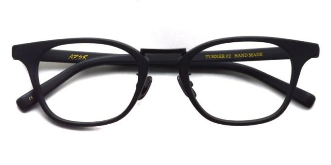 A.D.S.R. / TURNER02 / Matte Black / Shiny Black - Clear / ¥18,000 +tax