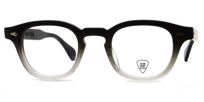 JULIUS TART OPTICAL / AR / bridge : 24mm / Black Clear Fade / ¥37,000+tax