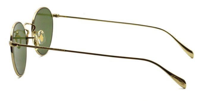 OLIVER PEOPLES / COLERIDGE SUN -OV1186S- / 514552 GOLD - Green Lenses / ¥31,000 +tax