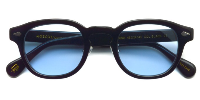 MOSCOT / LEMTOSH MP Sun / BLACK - Light BLUE / ¥34,000 + tax