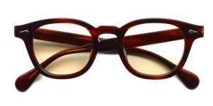 JULIUS TART OPTICAL / AR / Demi Amber - Light Brown Lenses / ¥40,000+tax