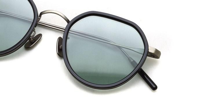 A.D.S.R. / FANNI03 / Shiny Black / Antique Silver - Lt.Green Lenses / ¥21,000+tax