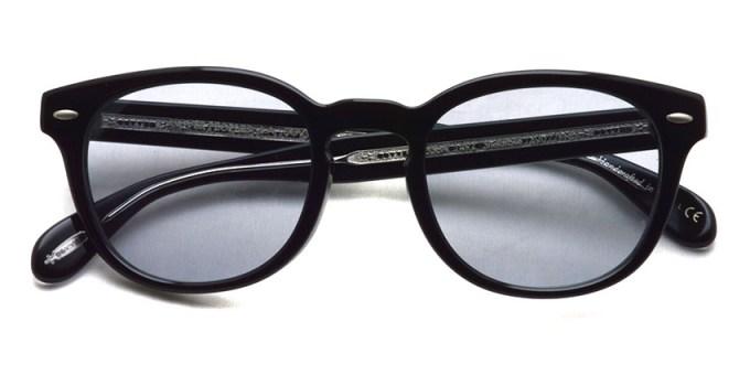 OLIVER PEOPLES / SHELDRAKE(A) SG OV5036A / 1492 BLACK - Light Gray Lenses / ¥33,000 + tax