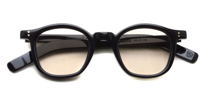 guepard / gp-01 / noir / Light Brown Flat Lenses / ¥27,000+tax
