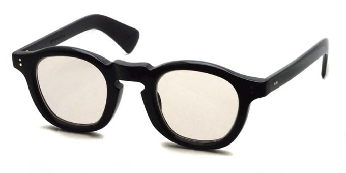 guepard / gp-13 / noir / Light Brown Flat Lenses / ¥27,000+tax