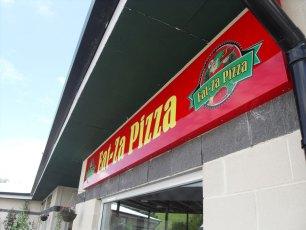 eat za pizza sign