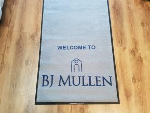 BJ Mullen logo mat 1