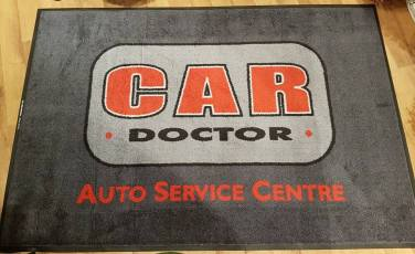 Car Doctor logo mat 1