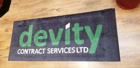 Devity logo mat 2
