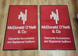Donald O'Neill Logo mat 1