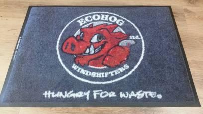 Ecohog logo mat 1