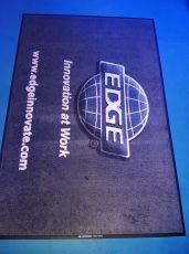 Edge logo mat 1
