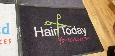 Hair Today logo mat 1