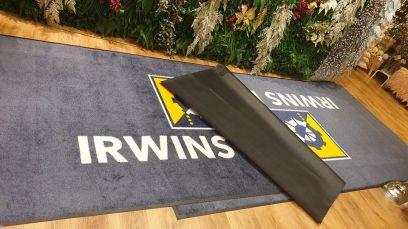 Irwins Feed logo mat 2