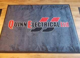 JJ Quinn Electrical logo mat 1