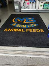 M Beattie & Son logo mat 4