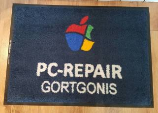 PC Repairs logo mat 1