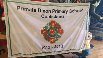 Primate Dixon school flag 1