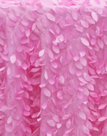 Leaf Petal Backdrop Pink