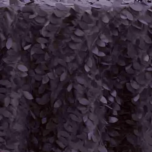 Leaf Petal Backdrop Plum